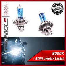 H4 55W 8000K XENON LOOK OPTIK HALOGEN LAMPE E-PRÜFZEICHEN SUPER WHITE AUTOLAMPE