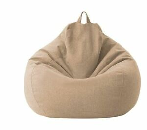 Bean Bag Chairs Cover Indoor Couch Sofa Adults Kids Lazy Lounger Home Furniture