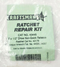 """Craftsman 1/2"""" Ratchet Repair Kit 43445 Non Quick 43176 & Torque 44595 44597"""