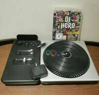 DJ Hero Turntable Dongle And Game Playstation 3 PS3