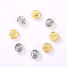 Wholesale Alloy Spacer Beads Religious Faith Beauty Jesus Figure Beads Charm F