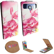 THL T6C - Schutz Hülle Handy - Flip M Orchidee