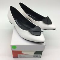 Katy Perry Womens The Cupid Ballet Flat Shoes White Slip Ons 7.5 M New
