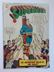 SUPERMAN #559 - ORIGINAL COMIC IN SPANISH - MEXICO - NOVARO