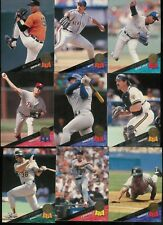 1993 LEAF BASEBALL SERIES 1 + 2 COMPLETE SET 1-440