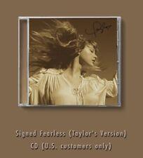 More details for taylor swift signed fearless (taylor's version) cd pre order 01/10/21 uk seller