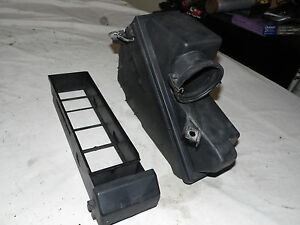 OEM 1993 Mercedes Benz 600 Driver's Side Air Intake Filter Box w/Slide Out Tray