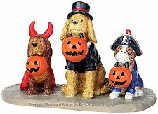 Lemax 12887 TRICK OR DOG TREATS Spooky Town Figurine Halloween Decor Figure I