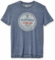 Guinness Extra Stout Lucky Brand T-Shirt Men's M, XL, XXL NEW Navy Blue