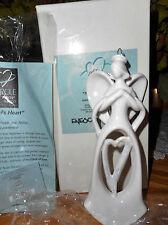 "NIB BY ENESCO CIRCLE OF LOVE ""ANGEL'S HEART"" HANGING ORNAMENT #4002815"
