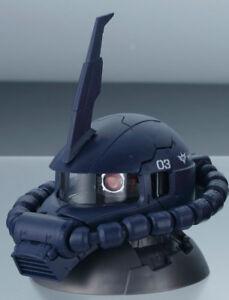 Gundam Exceed Model Vol.2 Zaku Head Figure~ MS-06R Zaku II Black Tri-Star @13483