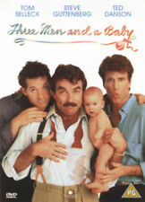 THREE MEN AND A BABY TOM SELLECK STEVE GUTTENBERG TED DANSON UK DVD NEW & SEALED
