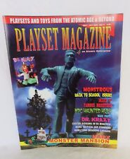 Playset magazine #11 Monster figures + sets by MPC + Marx +Tactical Air Comd set