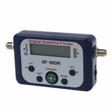 Digital LCD Buscador medidor de senal de satelite Directv Dish con Brujula FAT S