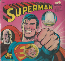 SUPERMAN LP #8169 POWER RECORDS FROM 1975 SEALED 3 STORIES