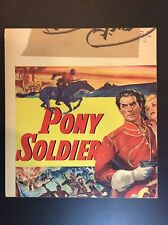 PONY SOLDIER TYRONE POWER Original US Title PARTIAL Lobby Card