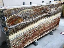 Naturstein Tischplatte Steinplatte Wandbild Duschwand ONYX Couchtischplatte Neu