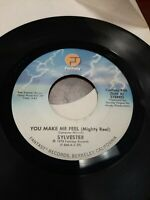 45 Record Slyvester You Make Me Feel/Grateful VG Disco Soul