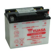 Batterie Moto Yuasa YB12B-B2 12V 11.6AH 140A 160X90X130MM ACIDE OFFERT