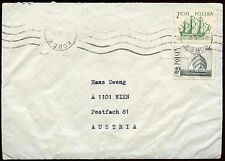 Polonia 1972 Tapa a Austria #c 23422