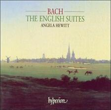 English Suites by Bach, Johann Sebastian, Angela Hewitt