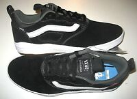 Vans Mens UltraRange Pro Black White Suede Skate shoes Size 10.5 VN0A3DOSY28 NWT