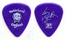 Motorhead Lemmy Kilmister Signature Purple Guitar Pick - 2005 30th Ann. Tour