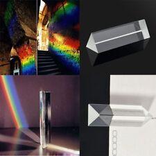 2018 Triangular Prism Teaching Optical Glass Triple Physics Light Spectrum CMX