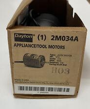 Dayton 2M034A 5000 Rpm 1/15Hp 115 Volt 1Ph 60Hz AC-DC Series Motor