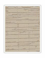 Sizzix 662370 Embossing Folder by Tim Holtz Wood Planks