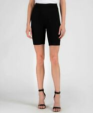 ATM Anthony Thomas Melillo Black Modal Rib Bike Cycle Shorts Pants XS $175