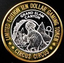 Circus Circus, Ltd Ed. $10 Gaming Token, .999 Fine Silver! sku CC12