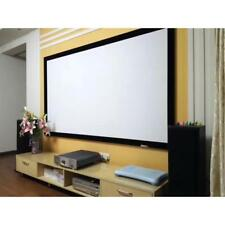 """New Pyle PRJTPFL122 Home Theater Fixed Flat Projection Screen 120"""" Inch"""