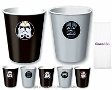 Coco&Bo 5 x Star Wars Villains Party Cups - Treat Tubs Darth Vader Kylo Ren