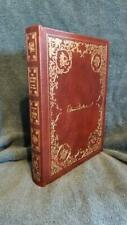 Leather book The Sleeping Beauty & Other Fairy Tales illustrated by Edmund Dulac