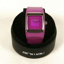 ANIMAL Ladies Pink Can Am S Waterproof Watch New Boxed Stainless Steel
