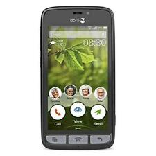 SLIGHT FAULT - Doro 8030 Smartphone - Black Unlocked Mobile Phone