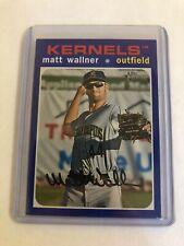 2020 Topps Heritage Minors Matt Wallner Blue /99 #83 Kernels