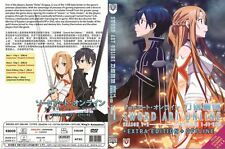 DVD Sword Art Online Season 1 + 2 + Extra Edition + Offline English Audio