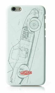 Genuine Jaguar E-Type Classic iPhone 6 6S 7 8 and SE (2020) Case - 50JDPH754WTA