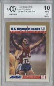1992 US Olympicards Snickers Bruce Jenner #6 BCCG Mint