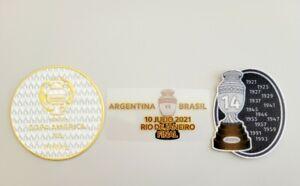 2021 Copa America 2021 Final Game MDT Winner Patch Set For Argentina