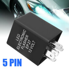 12V 5Pin EP27 Electronic Flasher Relay Fix LED Turn Signal Hyper Flash Tool US