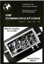 VHF Communications MAGAZINE 180 ISSUES in PDF format on DVD 1969-2013