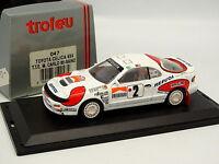 Trofeu 1/43 - Toyota Celica 4X4 Rally Monte Carlo 1992 N°2