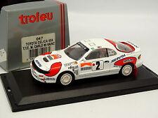 Trofeu 1/43 - Toyota Celica 4X4 Rallye Montar Carlo 1992 N°2