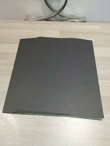 20 A4 350GM GF SMITH EBONY CARD GREAT QUALITY IDEAL FOR KRAFT PROJECTS