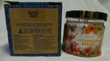 Partylite 3-Wick Jar Candle Nib Afternoon Breeze G73C1003