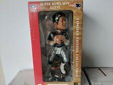 Tom Brady SuperBowl XXXVI Limited Edition Bobblehead with Box 1782/5000