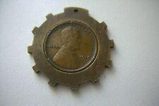 1916 Encased Lincoln Cent - Unusual Shaped Encasement